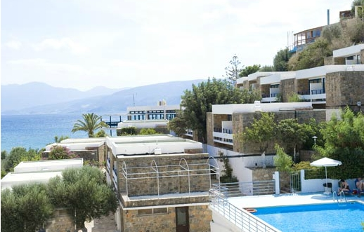 The Ariadne Beach Hotel in Agios Nikolaos